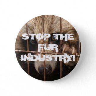 Stop the Fur Industry button