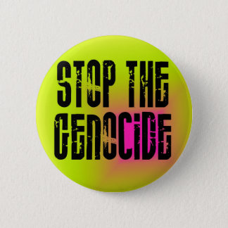Stop The Genocide Button