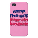 Stop the GOP War on Women Cover For iPhone 4