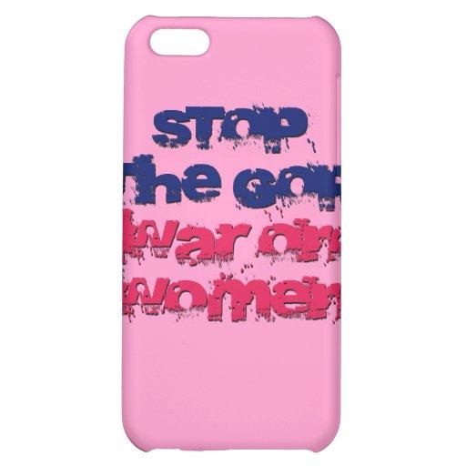 Stop the GOP War on Women iPhone 5C Case