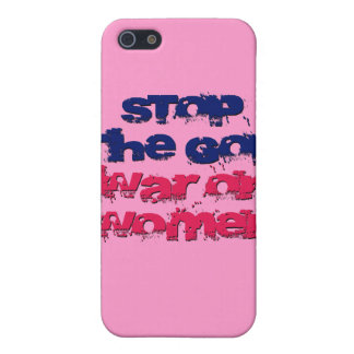 Stop the GOP War on Women iPhone SE/5/5s Cover