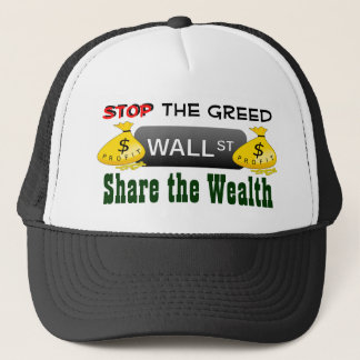 Stop the greed hat