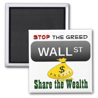 Stop the Greed magnet