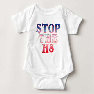 STOP THE H8 Products Baby Bodysuit