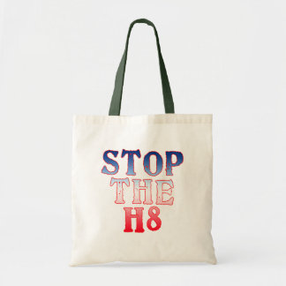 STOP THE H8 Products Tote Bag