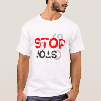 """STOP the H8n"" t shirt"