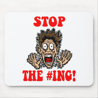 stop the hashtagging mouse pads