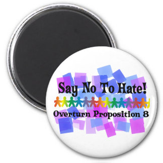 Stop The Hate 2 Inch Round Magnet
