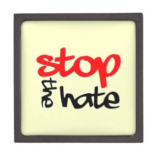 Stop the Hate Jewelry Box