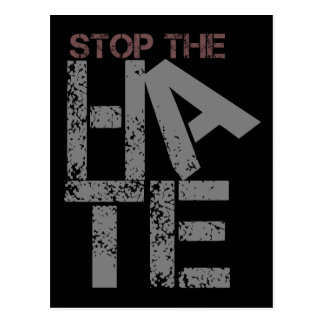 Stop the Hate Postcard