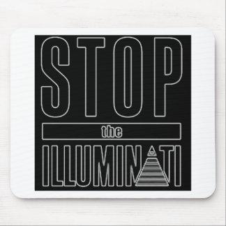 Stop The Illuminati Mouse Pad