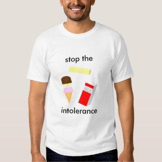 Stop The Intolerance Tee Shirt