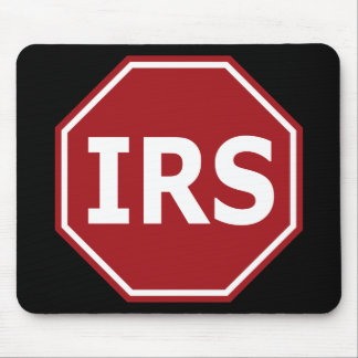 Stop the IRS Mouse Pads
