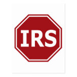 Stop the IRS Postcard