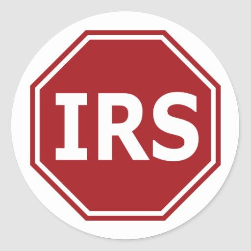 Stop the IRS Stickers