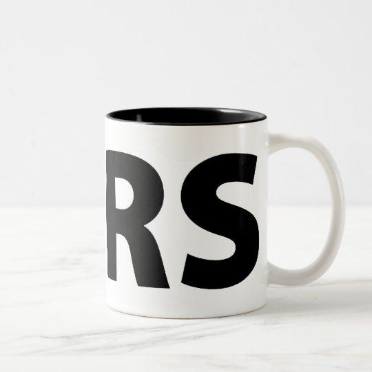 Stop the IRS Two-Tone Coffee Mug