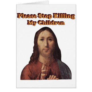 Stop the Killing Card