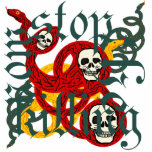 stop the killing now pin cut out