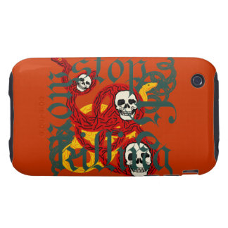 Stop the Killing Now Tough iPhone 3 Cover