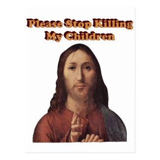 Stop the Killing Postcard