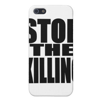 Stop the killing - protest loud and proud iPhone 5 covers