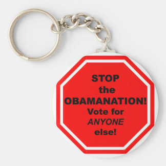 Stop the Obamanation! Keychain