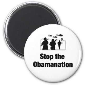 Stop the Obamanation Refrigerator Magnet