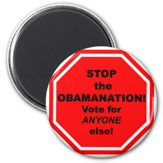 Stop the Obamanation Magnet