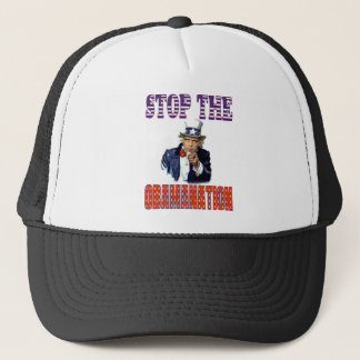 Stop the Obamanation T-shirt Trucker Hat