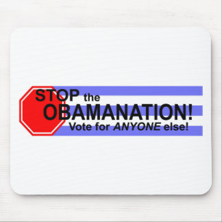 Stop the Obomanation! Mouse Pad