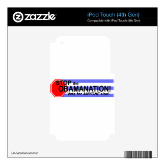 Stop the Obomanation! iPod Touch 4G Skins