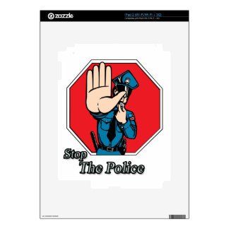 Stop the police skin for the iPad 2