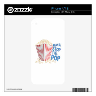 Stop The Pop Decal For The iPhone 4