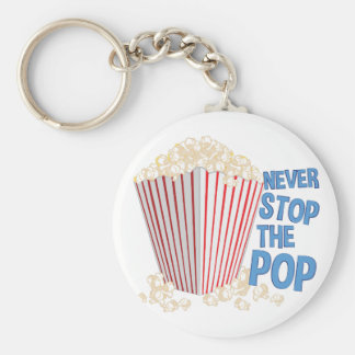 Stop The Pop Keychain