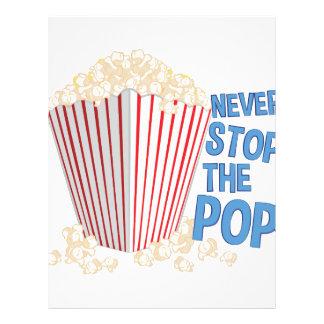 Stop The Pop Letterhead