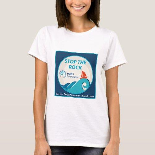 Stop the Rock MdDS Awareness T_shirt