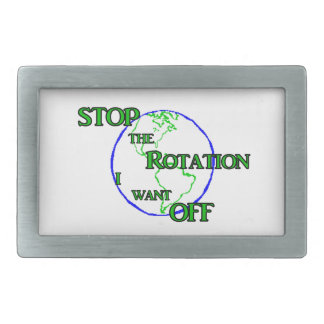 Stop the Rotation Belt Buckle