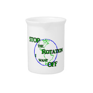 Stop the Rotation Drink Pitchers
