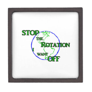 Stop the Rotation Gift Box
