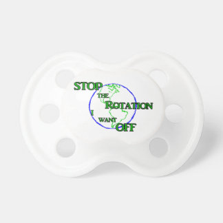 Stop the Rotation Pacifier