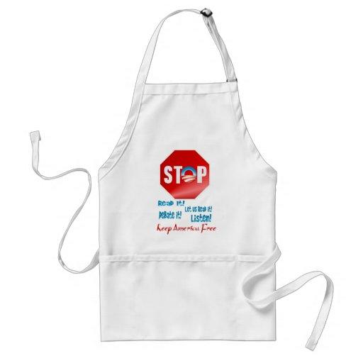 Stop The Rush! Apron