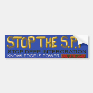 STOP THE SPP - Canada - Bumber Sticker