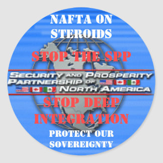 STOP THE SPP Sticker