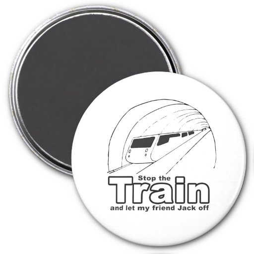 stop the train fridge magnets