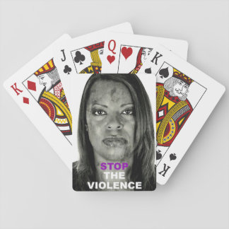 Stop The Violence- Playing Cards