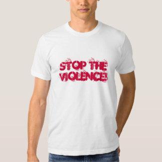 STOP THE VIOLENCE! TEE SHIRT