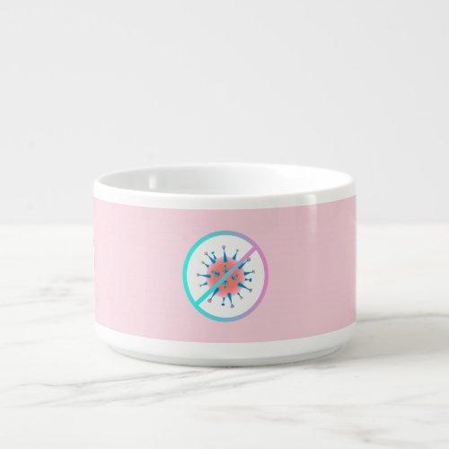 Stop the Virus - Pink Bowl