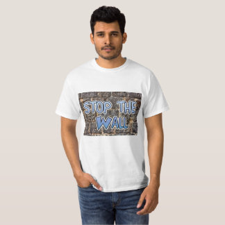 Stop the Wall, Anti Trump Immigration Laws Shirt