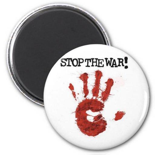 stop the war magnet