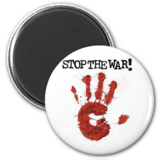 stop the war magnet